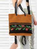 FOLKFLORAL tote backpack