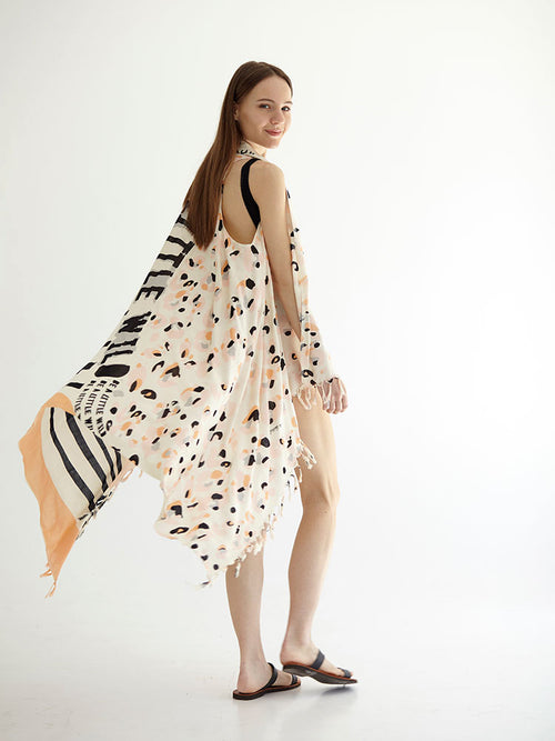 BE A LITTLE WILD pareo dress