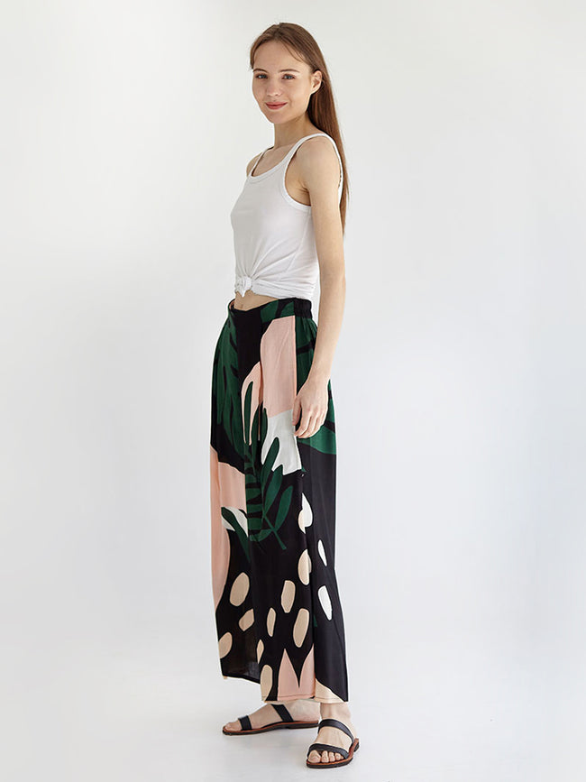 MONSTERART maxi pants