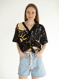 SUNSHINE cropped shirt