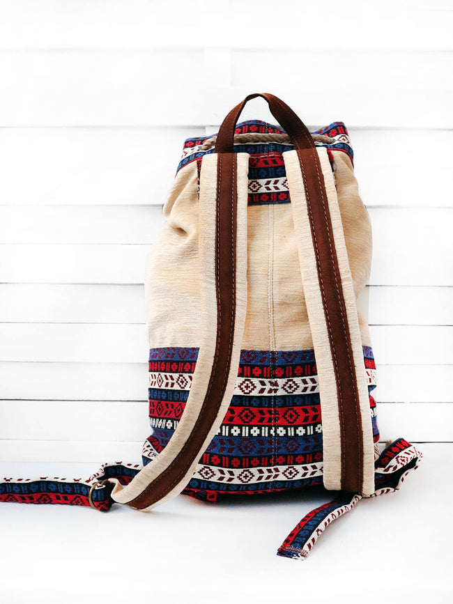 PILGRIM - aztec stripes backpack