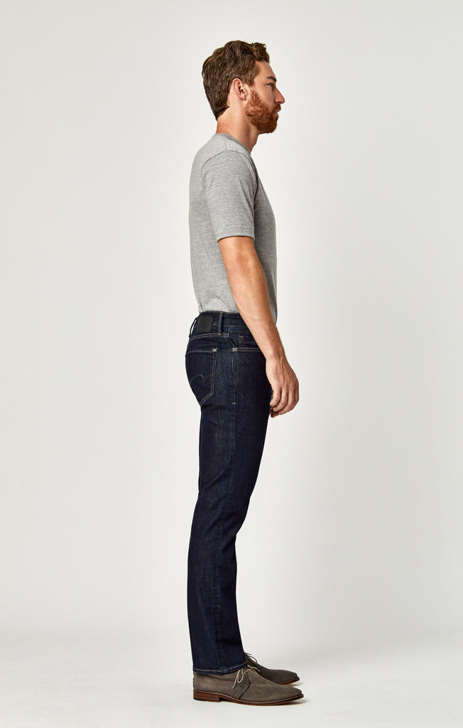 MYLES STRAIGHT LEG JEANS IN RINSE WILLIAMSBURG - Mavi Jeans