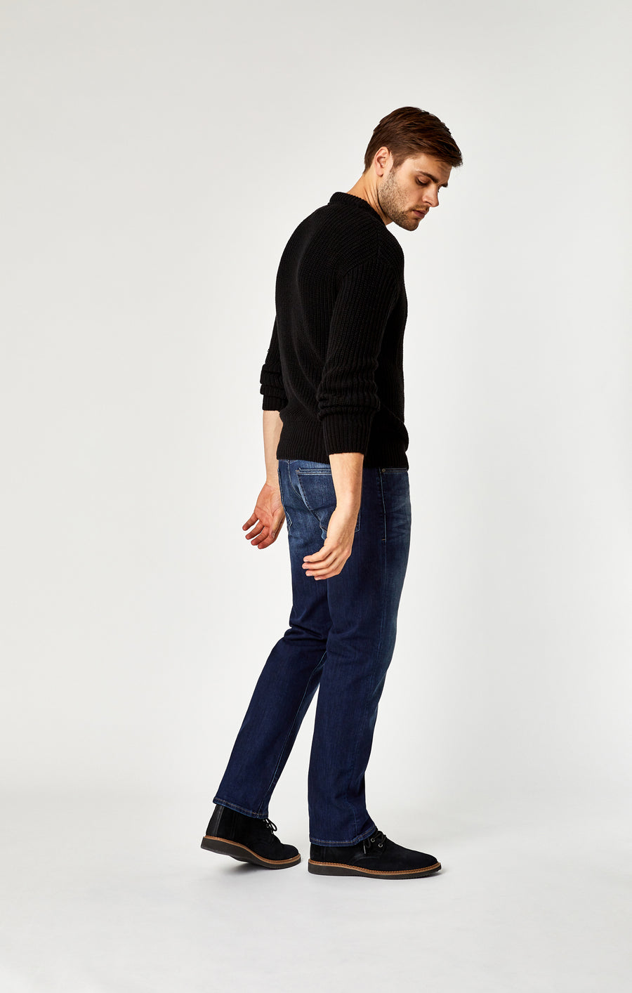MYLES STRAIGHT LEG JEANS IN DARK WILLIAMSBURG - Mavi Jeans