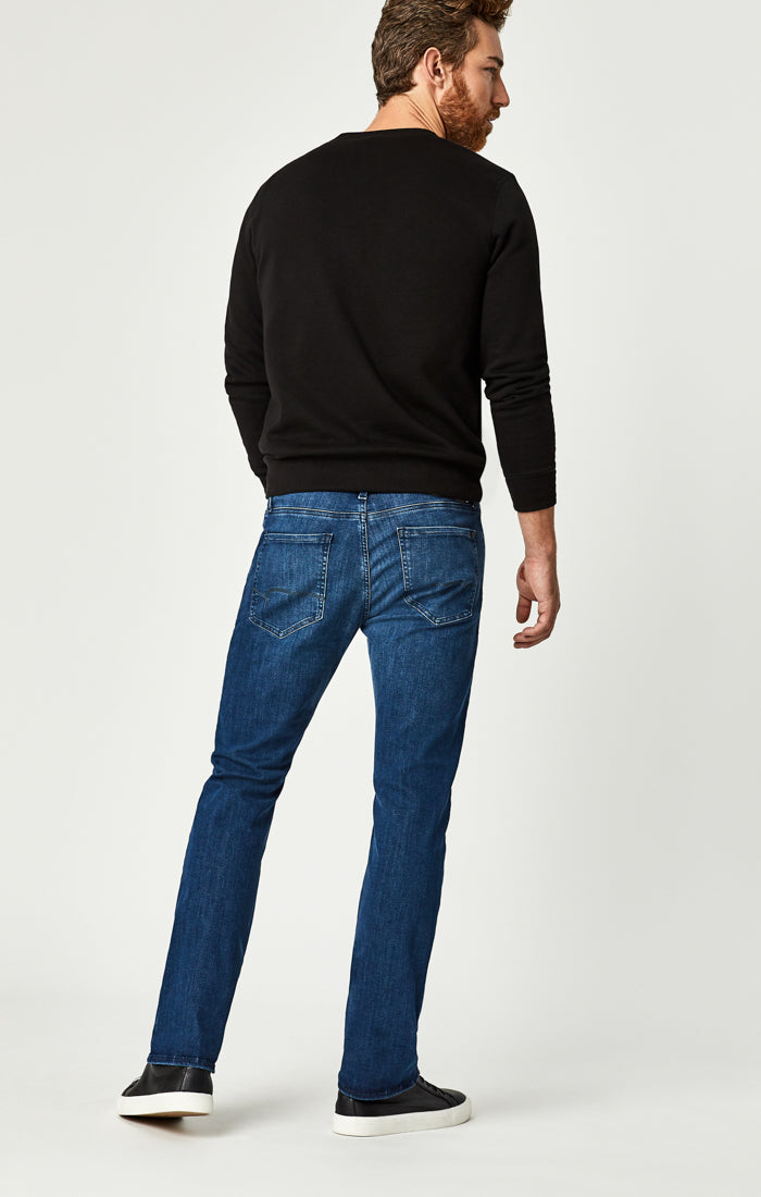 MYLES STRAIGHT LEG JEANS IN MID SHADED WILLLIAMSBURG - Mavi Jeans