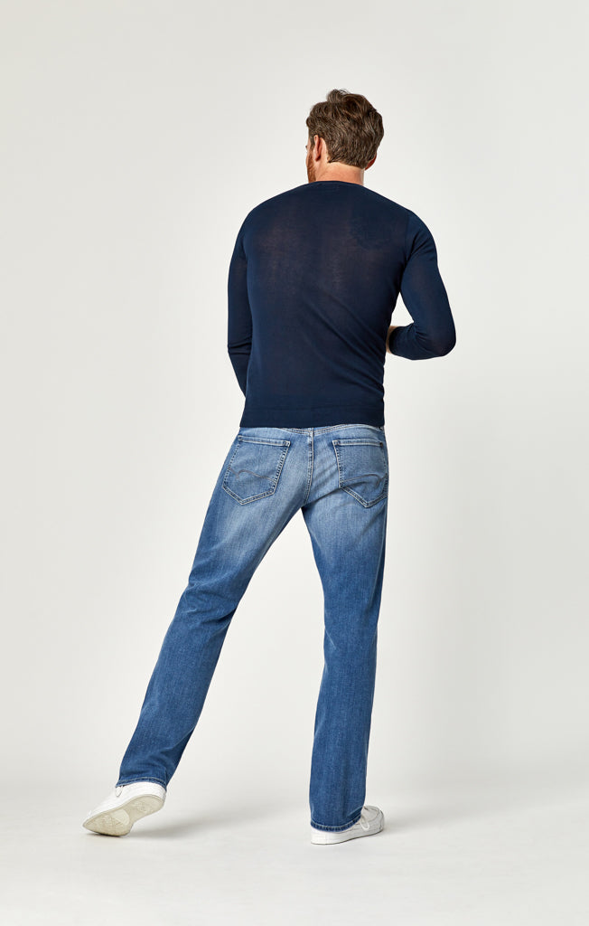 MATT RELAXED STRAIGHT LEG JEANS IN LIGHT BLUE WILLIAMSBURG - Denim - Mavi Jeans