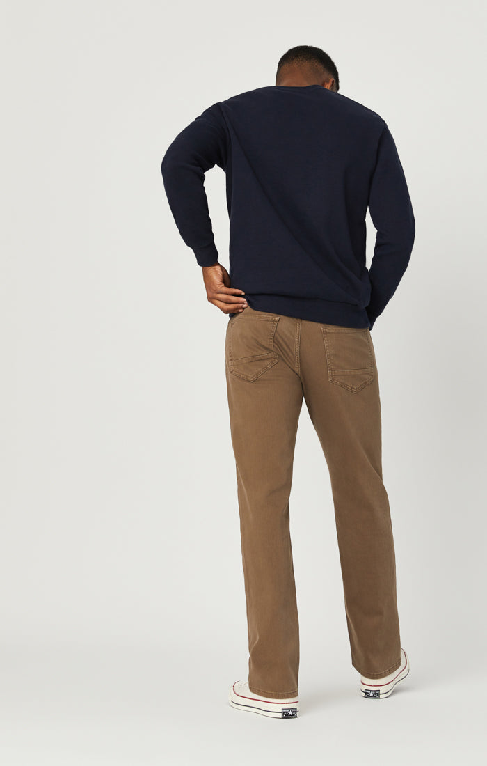 MATT RELAXED STRAIGHT LEG JEANS IN COFFE COMFORT - Mavi Jeans