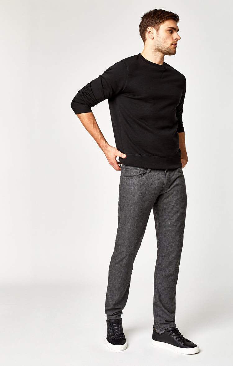 MARCUS SLIM STRAIGHT LEG IN GREY FEATHER TWEED - Pant - Mavi Jeans