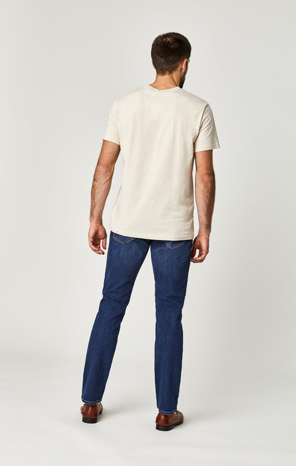 MARCUS SLIM STRAIGHT LEG JEANS IN DARK INDIGO WILLAMSBURG - Mavi Jeans