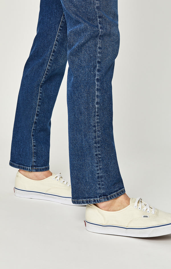 MARCUS SLIM STRAIGHT LEG JEANS IN DARK INDIGO 90'S DENIM - Mavi Jeans