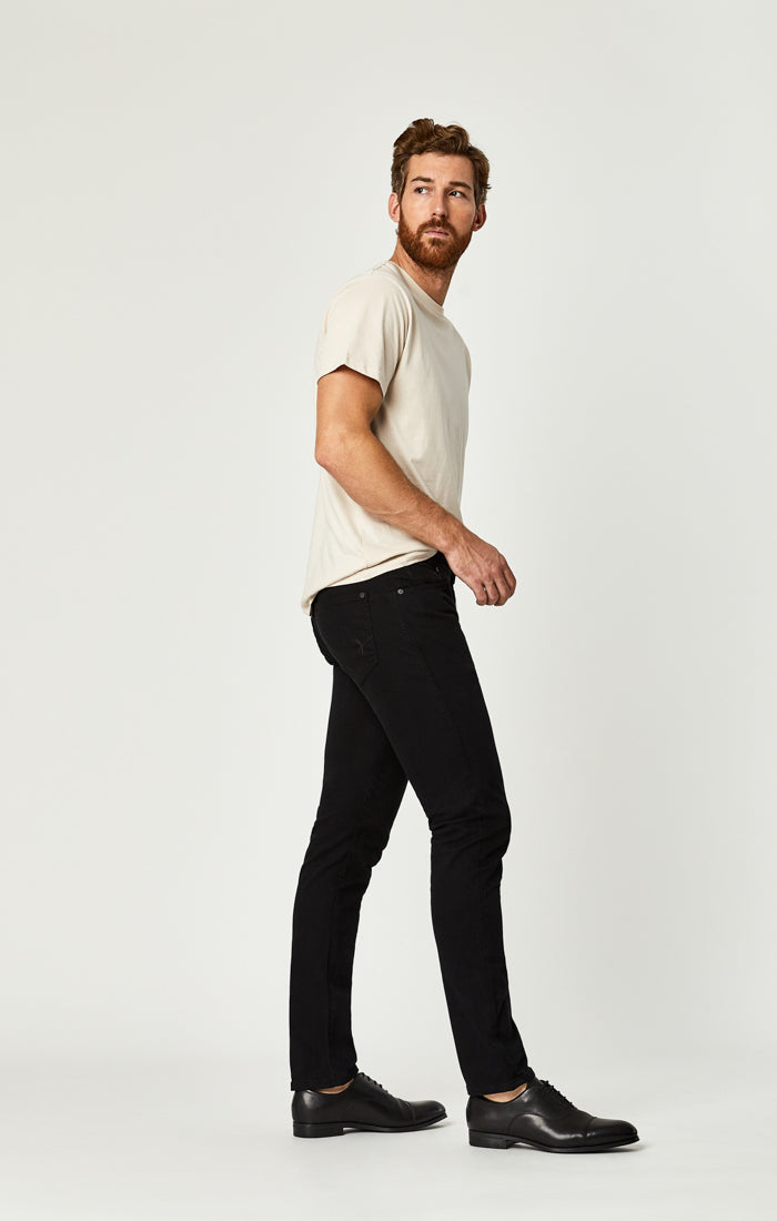 JAKE SLIM LEG JEANS IN BLACK WILLIAMSBURG - Mavi Jeans