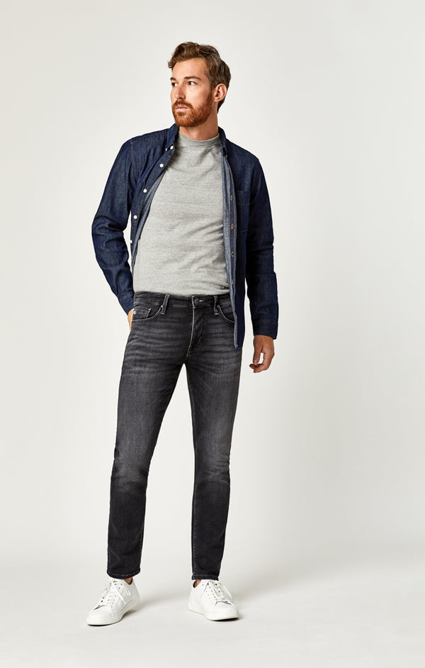 JAKE SLIM LEG JEANS IN SMOKE SPORTY - Mavi Jeans