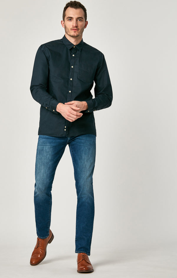JAKE SLIM LEG JEANS IN SHADED CASHMERE - Mavi Jeans