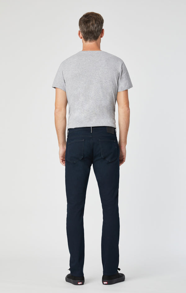 JAKE SLIM LEG JEANS IN INK WHITE EDGE - Mavi Jeans