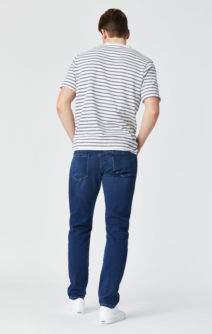 JAKE SLIM LEG JEANS IN SHADED ATHLETIC - Mavi Jeans