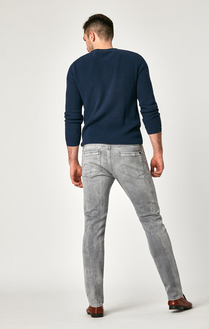 JAKE SLIM LEG JEANS IN GREY ATHLETIC - Mavi Jeans