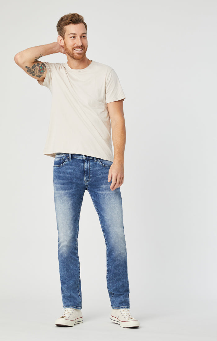JAKE SLIM LEG JEANS IN MID ATHLETIC - Mavi Jeans