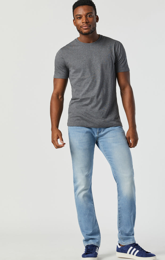 JAKE SLIM LEG JEANS IN LIGHT BRUSHED ATHLETIC - Mavi Jeans