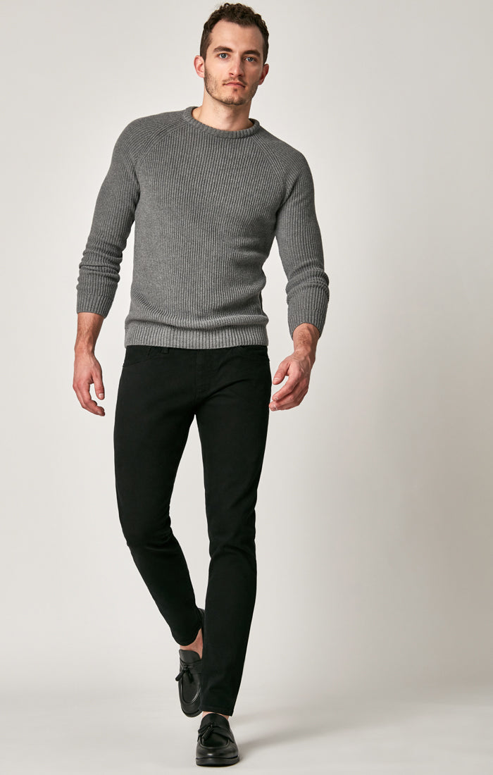 JAMES SKINNY JEANS IN BLACK BROOKLYN - Mavi Jeans