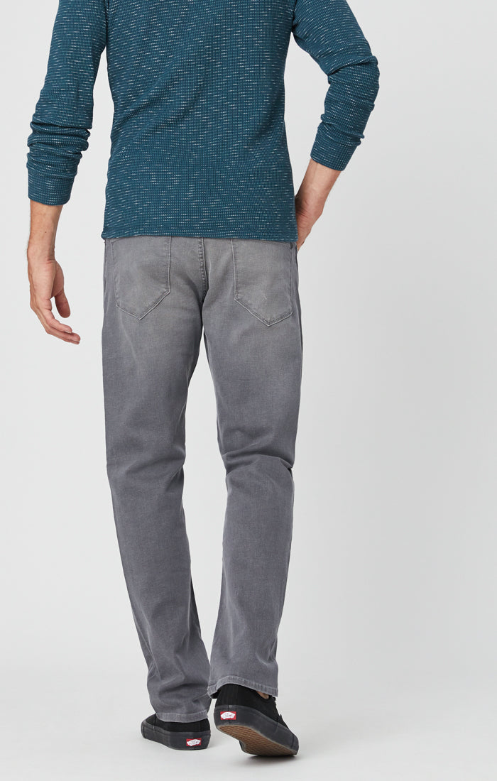 ZACH STRAIGHT LEG JEANS IN MID GREY - Mavi Jeans