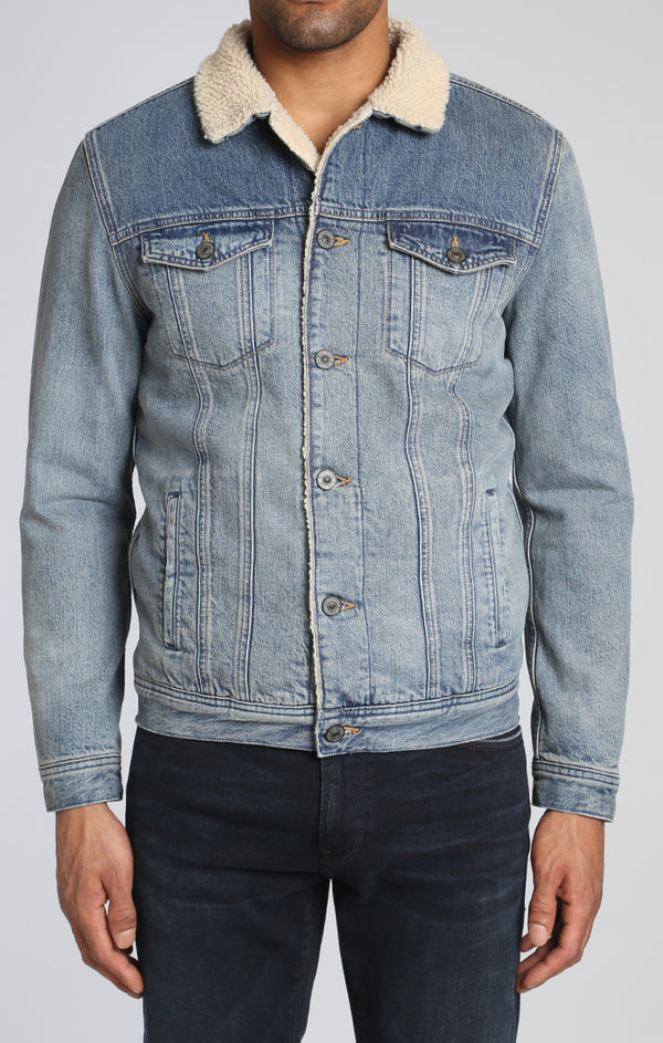 FRANK JACKET IN MID SHADED - Mavi Jeans