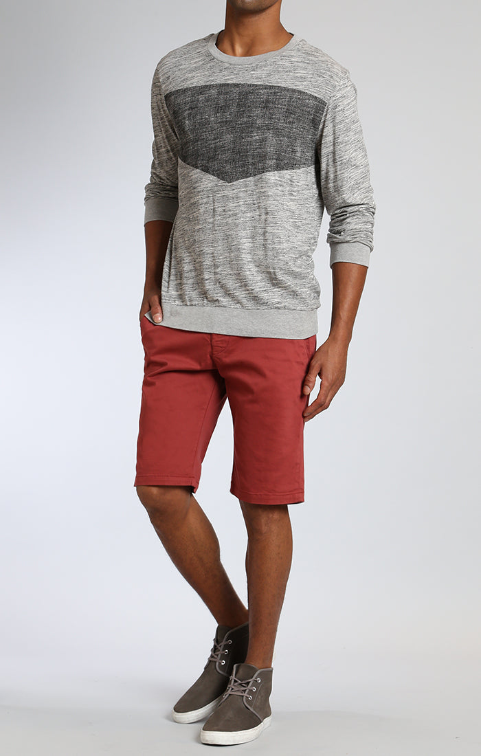 JACOB SHORTS IN ROSE WOOD TWILL - Mavi Jeans
