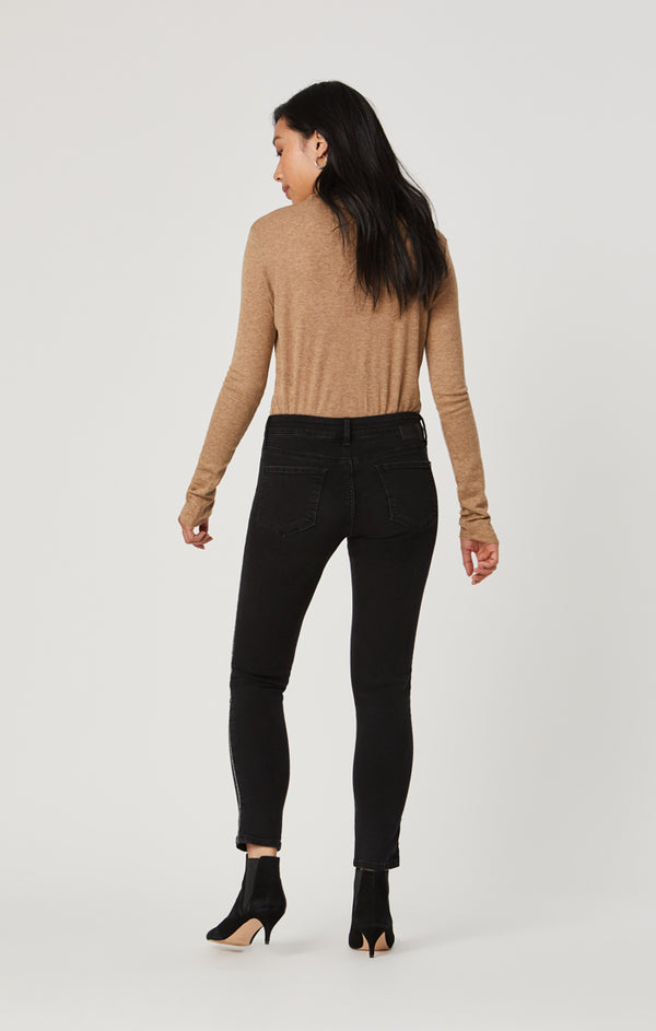TESS SUPER SKINNY JEANS IN SMOKE EMBELISHED - Mavi Jeans