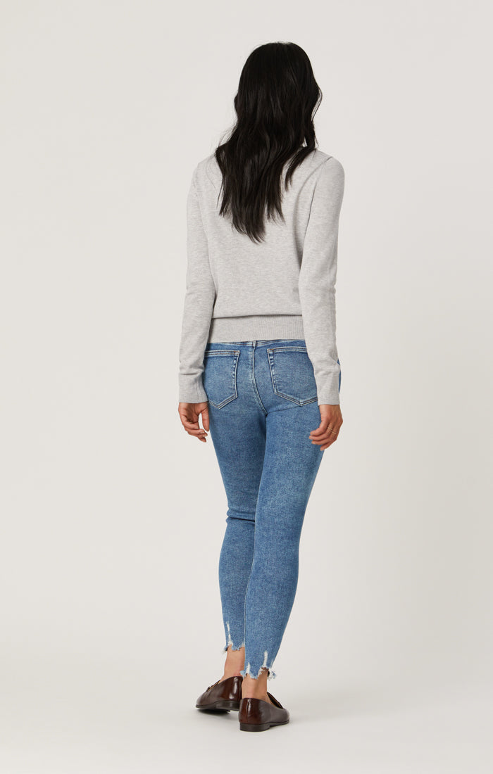 TESS SUPER SKINNY JEANS IN LIGHT RIPPED LA VINTAGE - Mavi Jeans