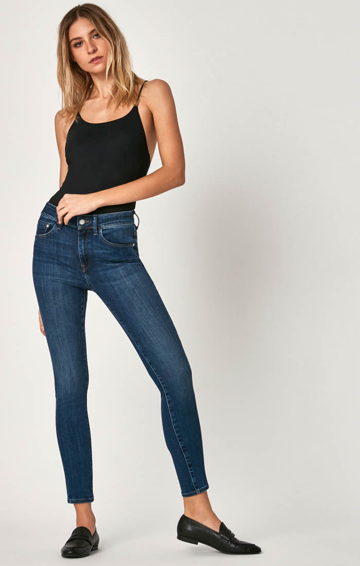 TESS SUPER SKINNY JEANS IN INDIGO SUPERSOFT - Mavi Jeans