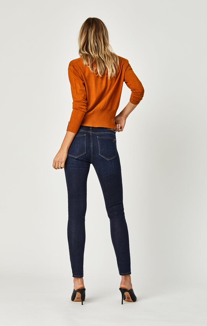 TESS SUPER SKINNY JEANS IN DEEP SUPERSOFT - Mavi Jeans