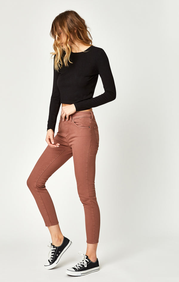 TESS SUPER SKINNY JEANS IN CLOVE WASHED - Mavi Jeans