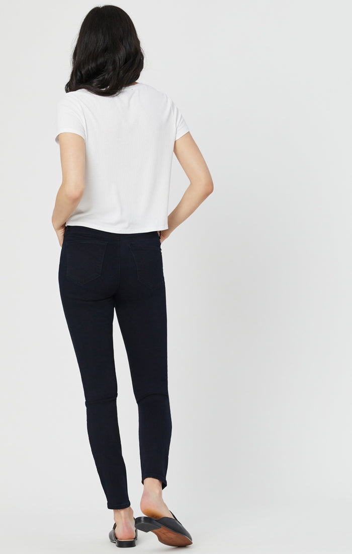 TESS SUPER SKINNY JEANS IN RINSE GOLDEN GOLD - Mavi Jeans
