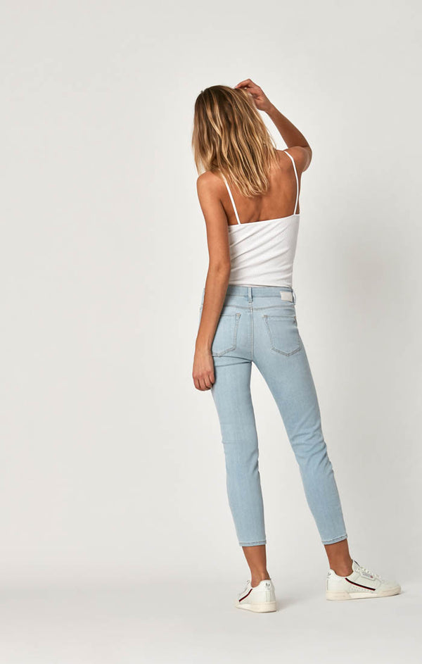 TESS SUPER SKINNY JEANS IN LIGHT BLEACH TRIBECA - Mavi Jeans