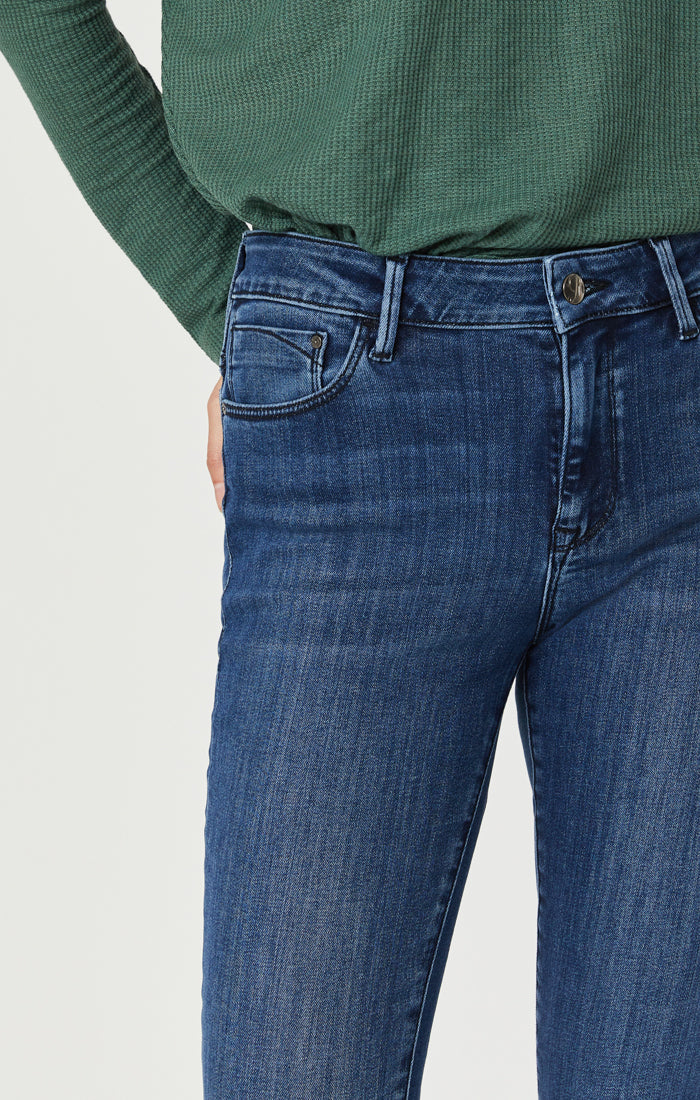 TESS SUPER SKINNY JEANS IN MID TONAL SUPERSOFT - Mavi Jeans