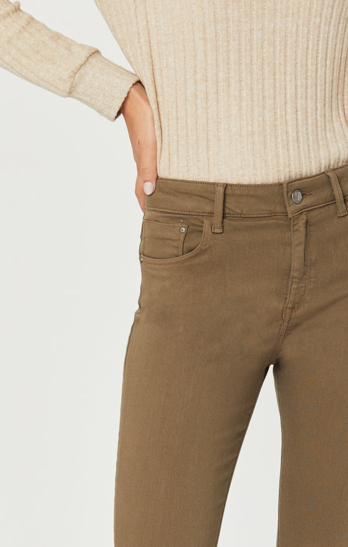 TESS SUPER SKINNY JEANS IN DUSKY GREEN SUPERSOFT - Mavi Jeans