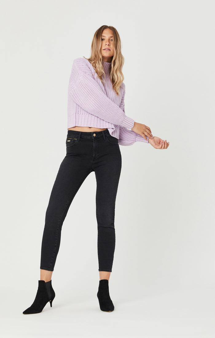 TESS SUPER SKINNY JEANS IN SMOKE GOLDEN GOLD - Mavi Jeans