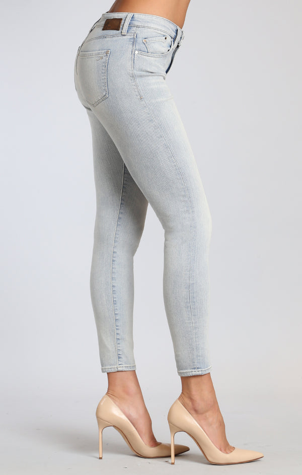 LUCY SUPER SKINNY JEANS IN BLEACHED VINTAGE - Mavi Jeans