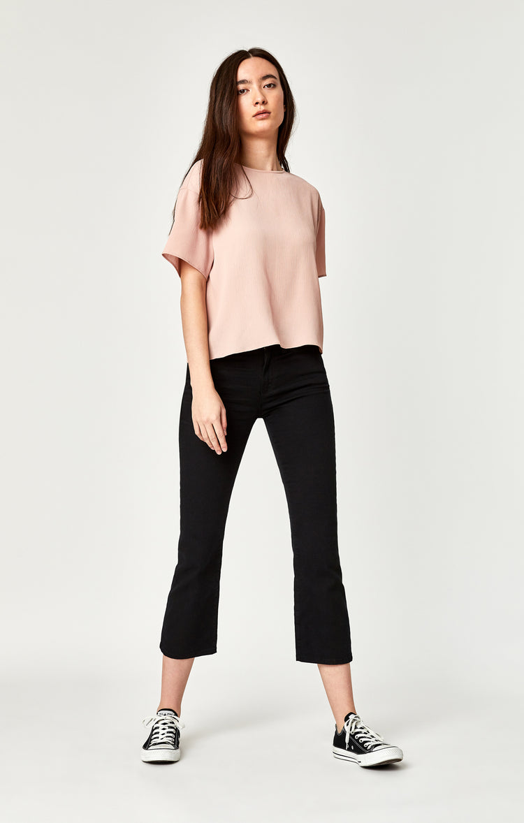 ANIKA CROPPED FLARE IN BLACK - Denim - Mavi Jeans
