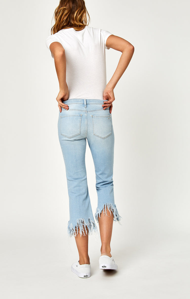 ANIKA CROP FLARE IN BLEACH VINTAGE - Denim - Mavi Jeans