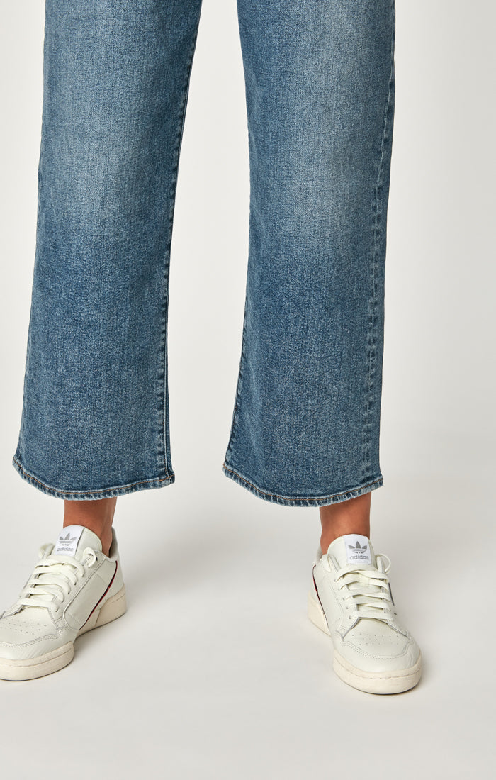 ROMEE CROPPED WIDE LEG JEANS IN MID 90'S STRETCH - Mavi Jeans