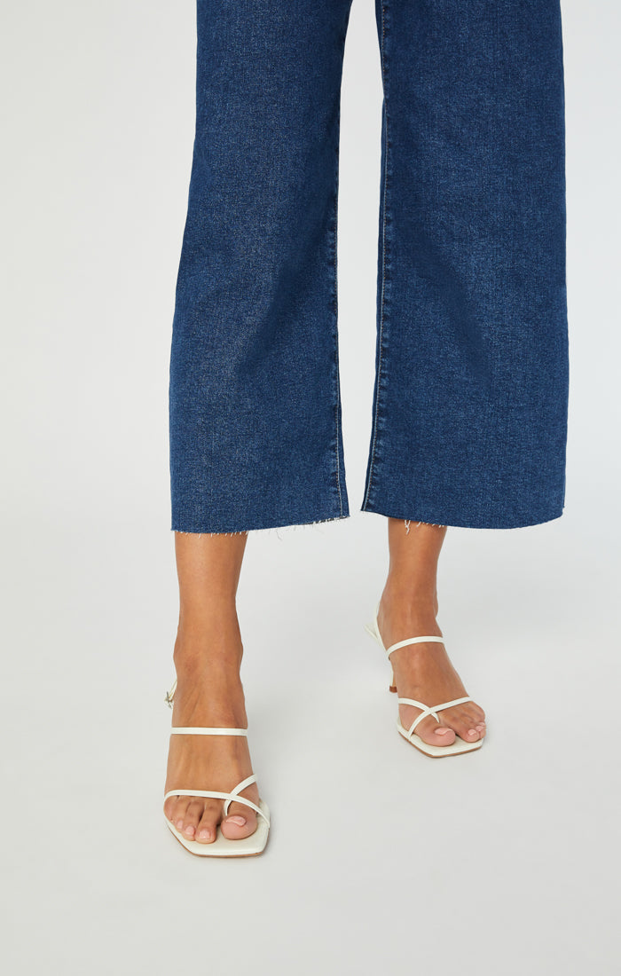 BODRUM CROPPED WIDE LEG JEANS IN DEEP COMFORT - Mavi Jeans