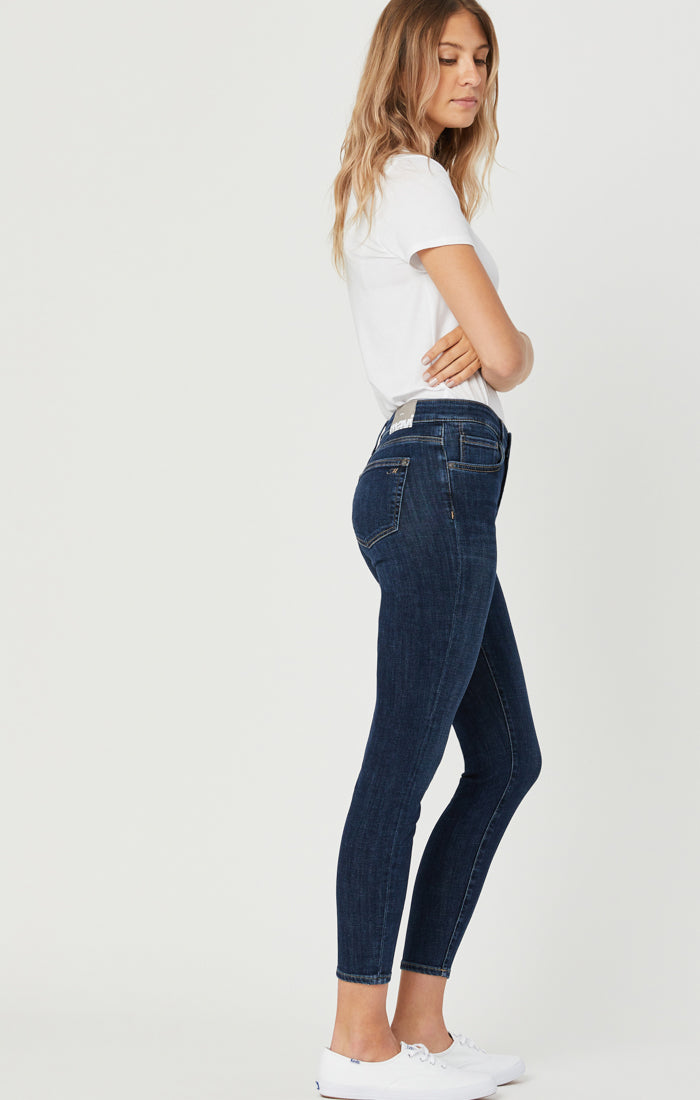 SCARLETT SUPER SKINNY JEANS IN DEEP FEATHER BLUE - Mavi Jeans