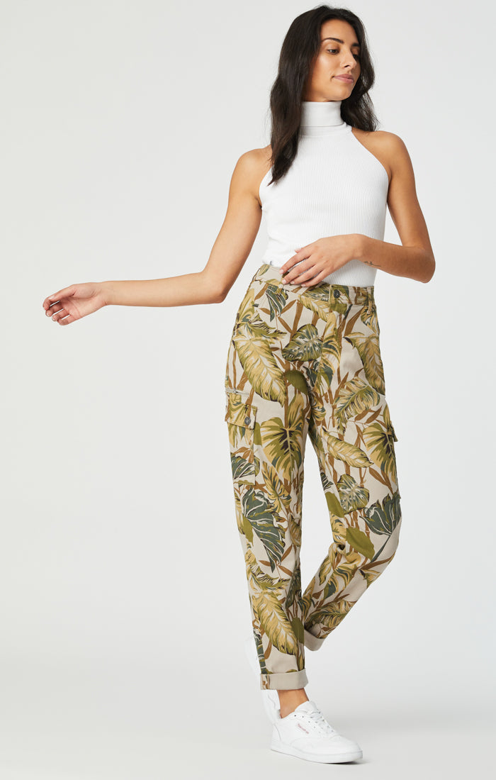 DENISE CARGO PANTS IN SAFARI TWILL - Mavi Jeans
