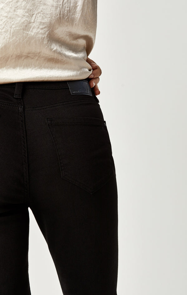 MOLLY BOOTCUT JEANS IN DOUBLE BLACK TRIBECA - Mavi Jeans