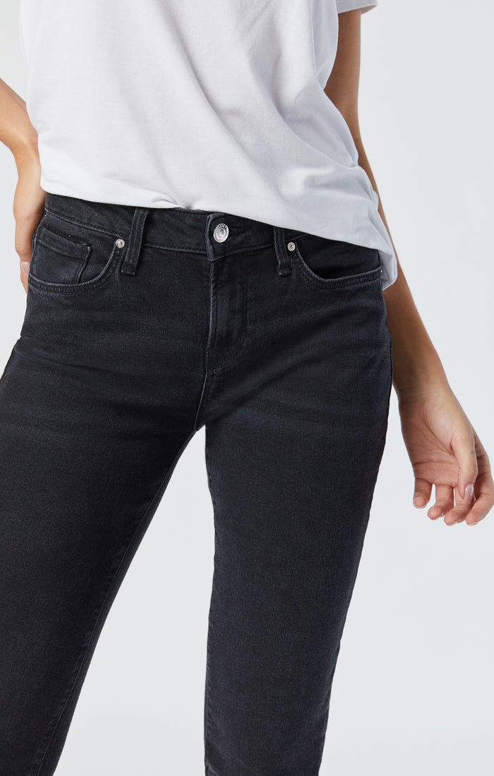 ADA BOYFRIEND JEANS IN DARK SMOKE STRETCH - Mavi Jeans