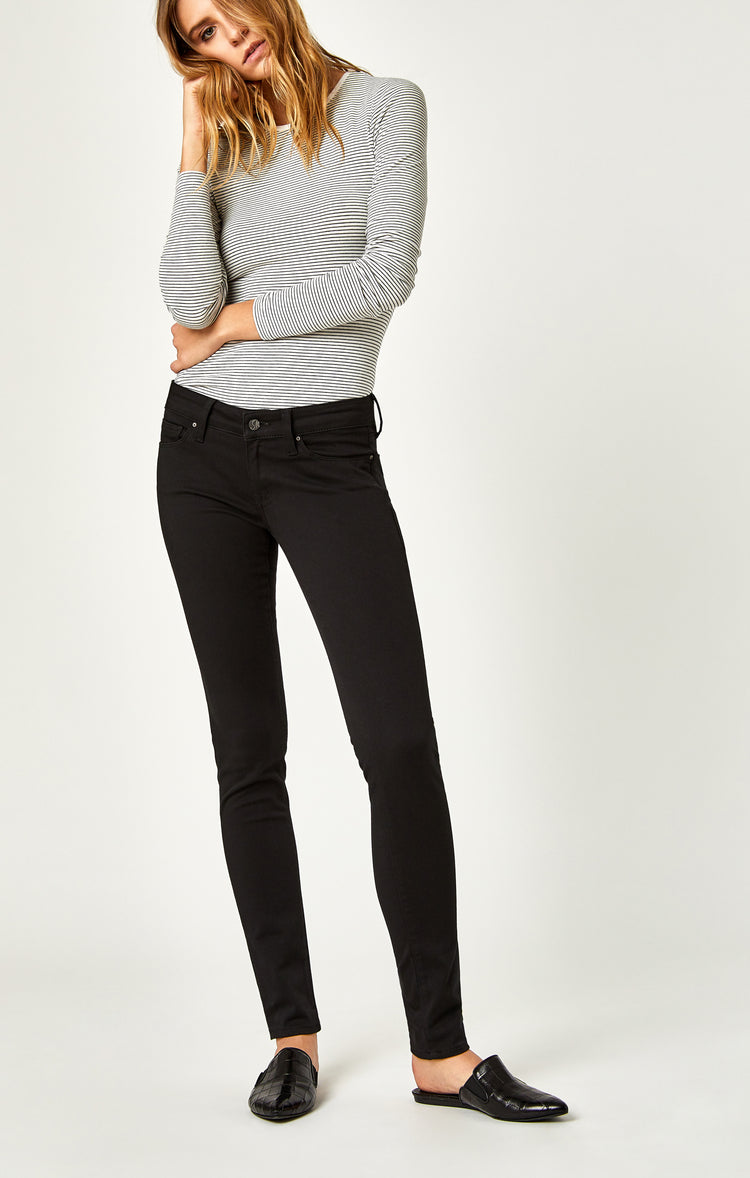 SERENA SUPER SKINNY IN JET BLACK - Denim - Mavi Jeans