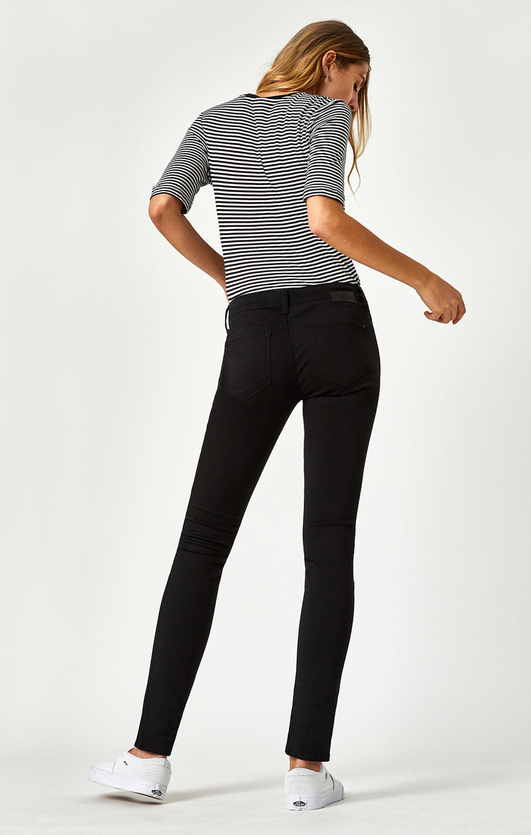 ALEXA SKINNY IN JET BLACK - Denim - Mavi Jeans