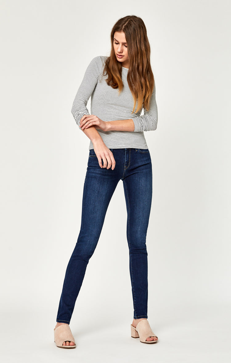 ALEXA SKINNY JEANS IN DARK SUPERSOFT - Denim - Mavi Jeans