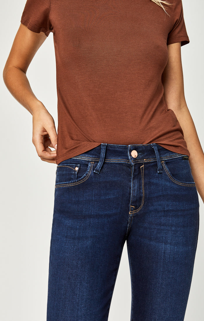 ALEXA SKINNY JEANS IN DEEP SOFT GOLD LUX MOVE - Mavi Jeans