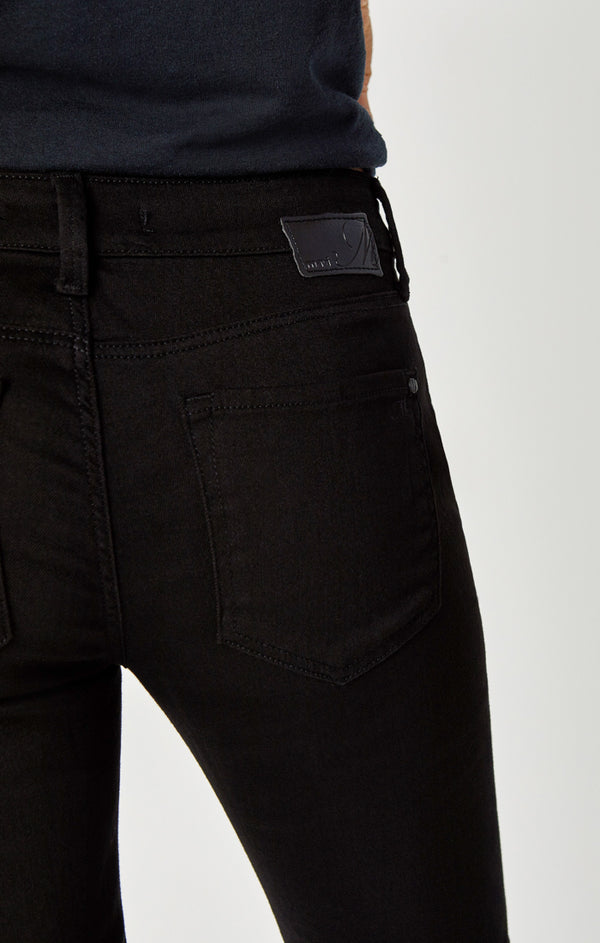 ALEXA SKINNY JEANS IN DOUBLE BLACK TRIBECA - Mavi Jeans