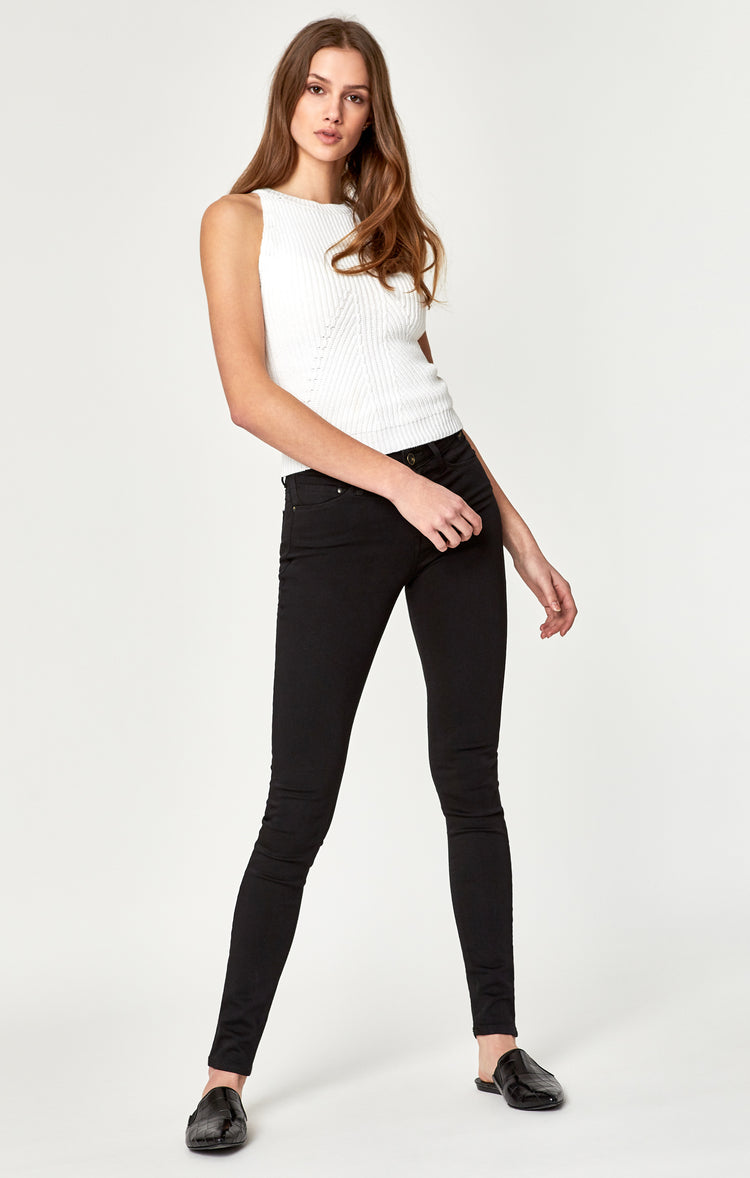 ALISSA SUPER SKINNY IN BLACK GOLD - Denim - Mavi Jeans